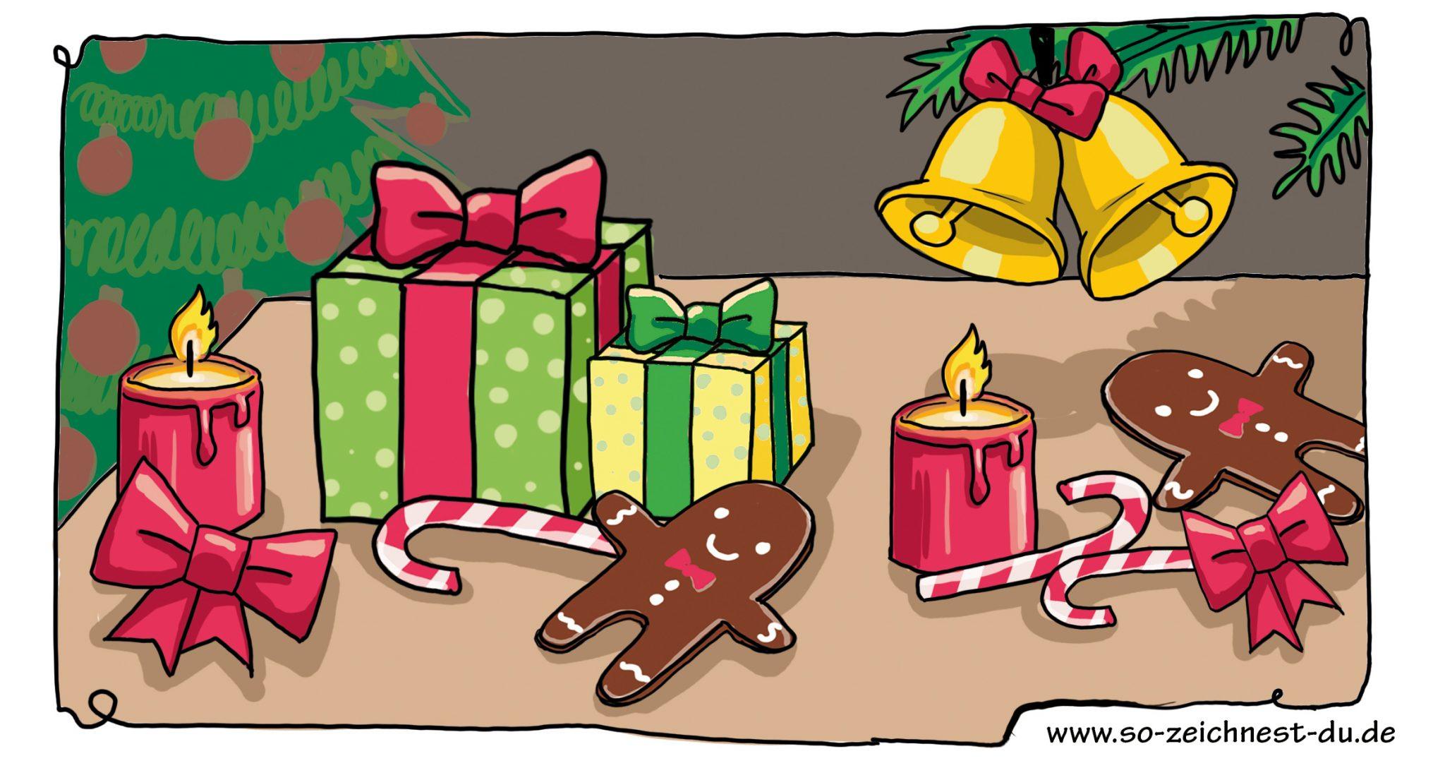 bilder zum nachmalen weihnachten bilder zeichnen