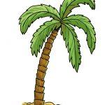 So zeichnest du eine Palme