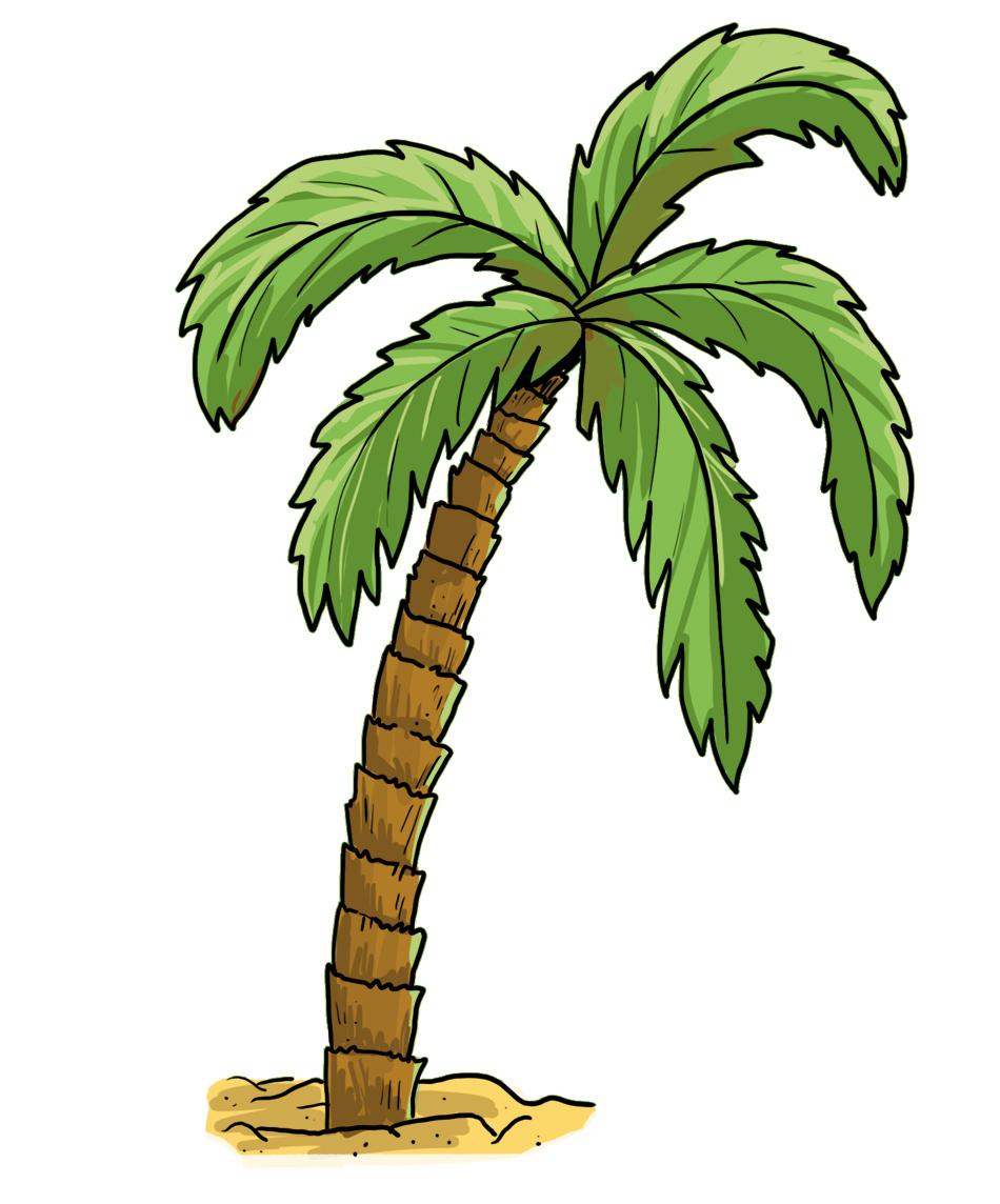 Palmen Zeichen