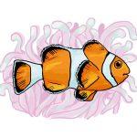 So zeichnest du einen Clownsfisch (wie Nemo)
