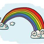 #Rainbowtrail - So zeichnest du einen Regenbogen