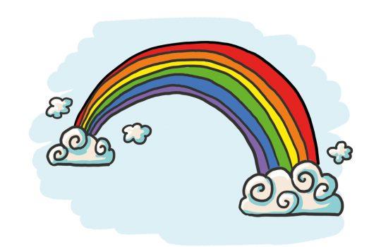 #Rainbowtrail – So zeichnest du einen Regenbogen